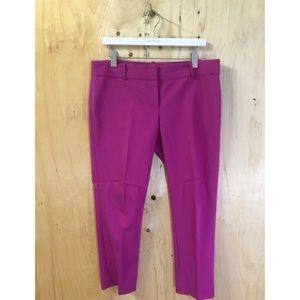 Ann Taylor Ankle Pant in Purple